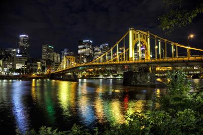 """9th St. Bridge Pittsburgh"" - Dennis Deeny"