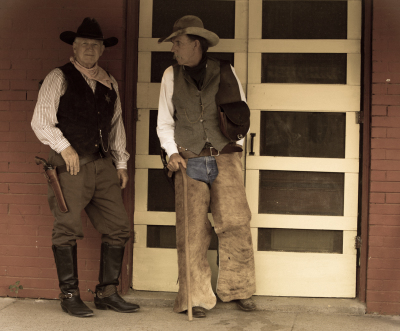 """Old Cowboys"" - David Goodge"