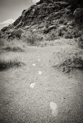"""Footprints to Nowhere"" - David Goodge"