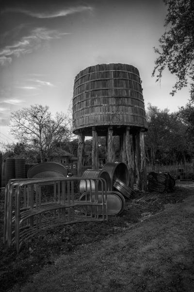 """Antique Waiter Tower"" - Dennis Deeny"