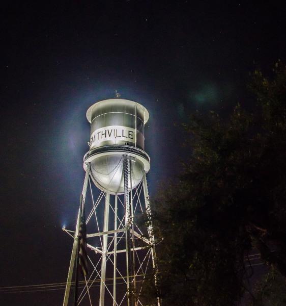 """Smithville at Night"" - Sandy Gilbert"