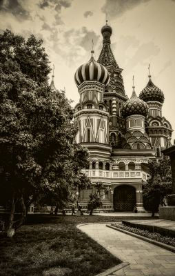 """St. Basil's in Moscow"" - Dennis Deeny"