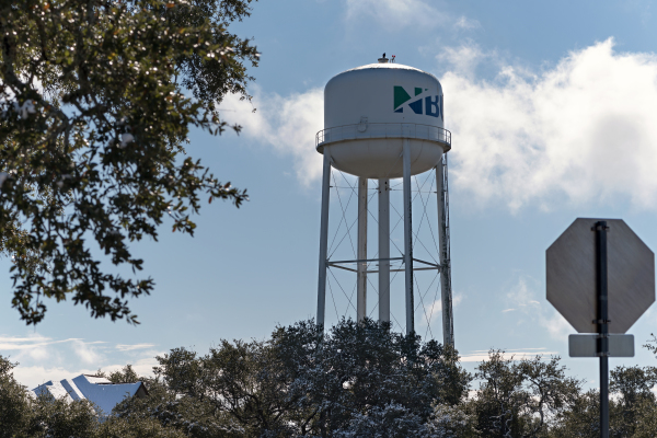 """""""Winter Water Tower"""" - Holly Thompson"""