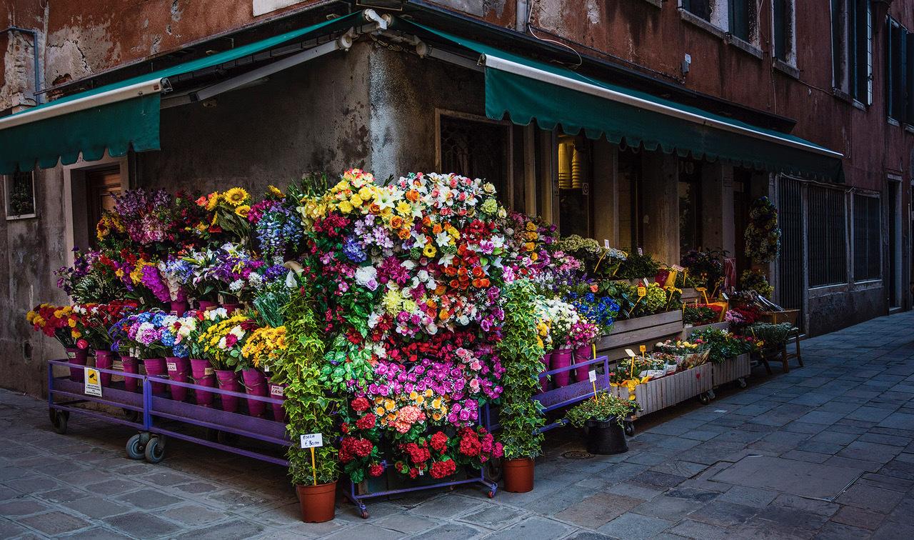 """Venice Florist"" by Dennis Deeny"