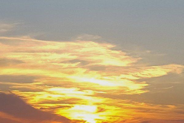 God's Abstract Sky by Barbara Beversdorf