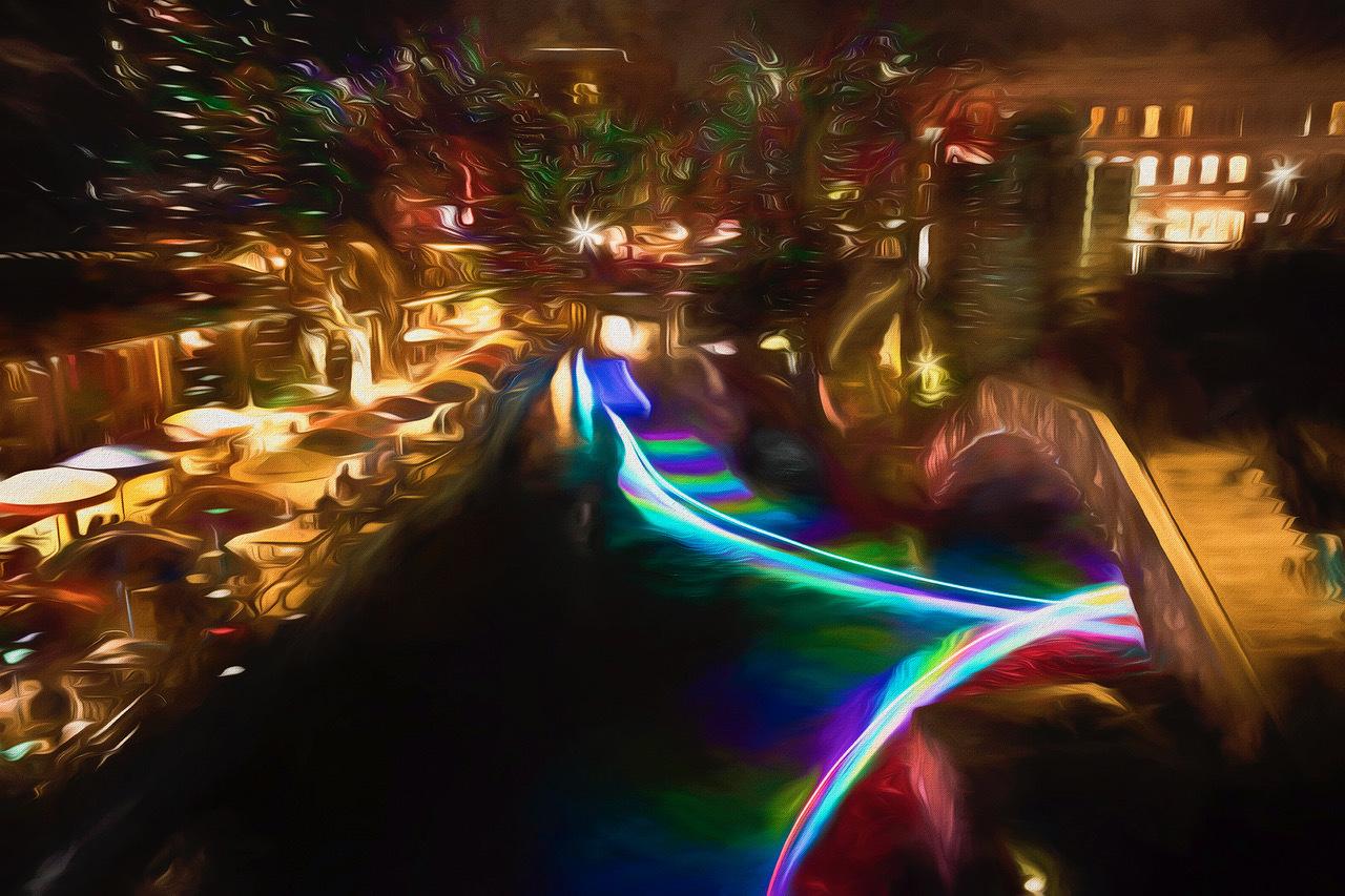 Riverwalk by Dennis Deeny