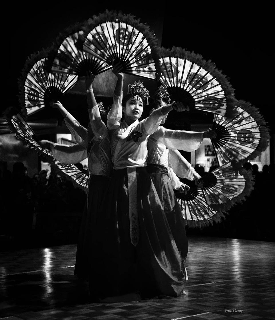 Fan Dance by Dennis Deeny