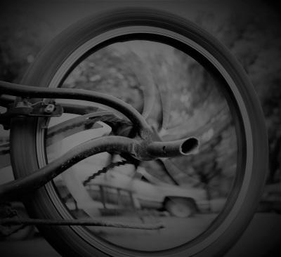 Wheels are Made for Spinnin' by Debbie Alvarado