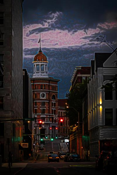 Chattanooga Street 2 by Ralph Nordenhold