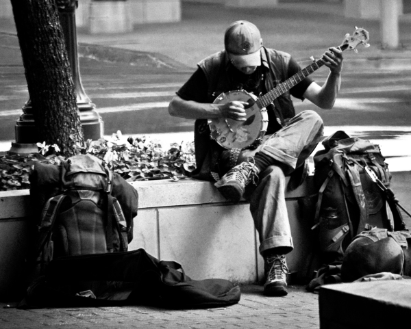 Playing for a Dime by David Goodge