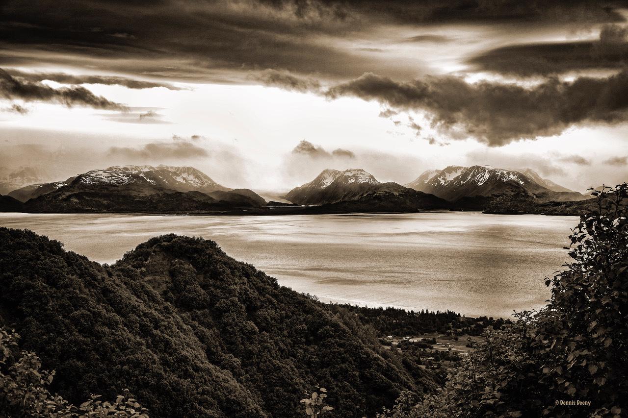 Kachemak Bay Alaska by Dennis Deeny