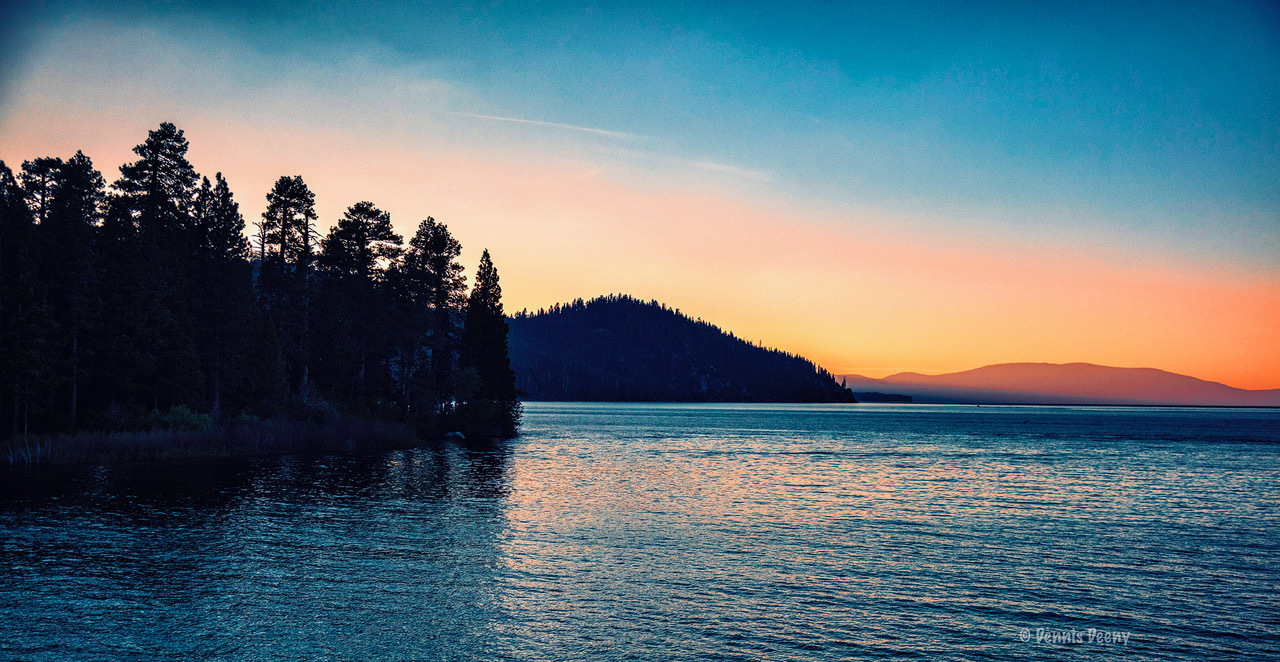 Lake Sunset by Dennis Deeny