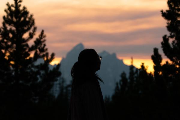 Beauty at Sunset by Rhodes Smartt