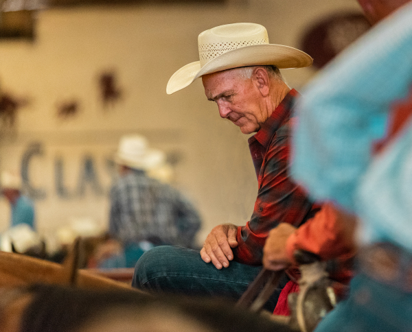 Pondering Cowboy by Anthony Shearin