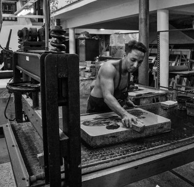 The Cuban Printer by Sharon Deeny