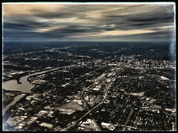 """""""Austin from Above"""" by Holly Thompson"""