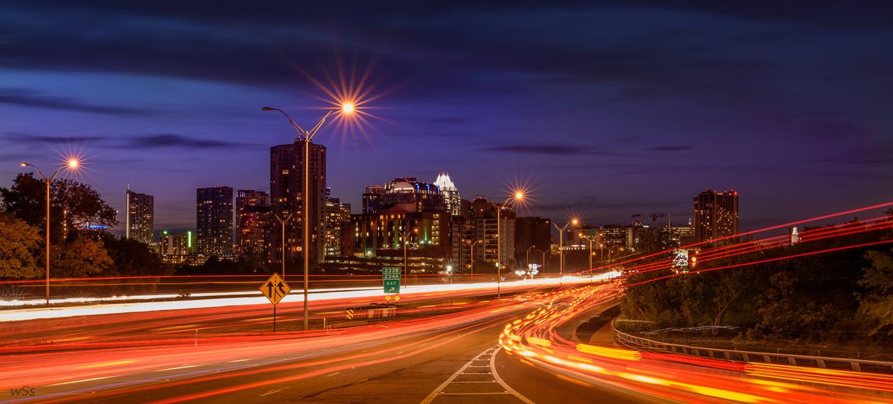 """""""Austin at Blue Hour"""" by Scott Stevens"""