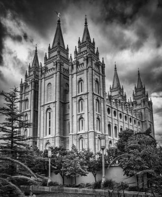 """""""Morman Temple"""" by Dennis Deeny"""