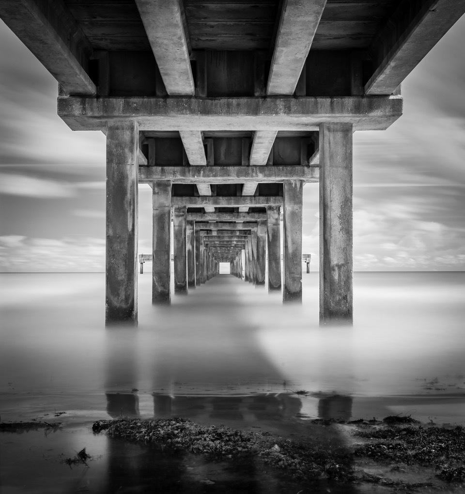 """""""Port Aransas Pier"""" by Scott Stevens"""