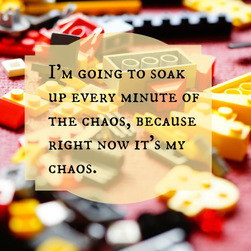 Enjoying the Chaos