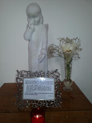 Shrine for our deceased children