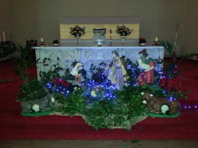 Crib Christmas 2015
