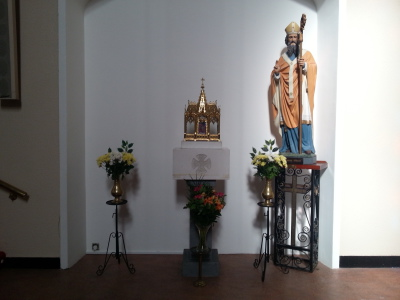 St.Laurence O'Toole Shrine - 1st class relic