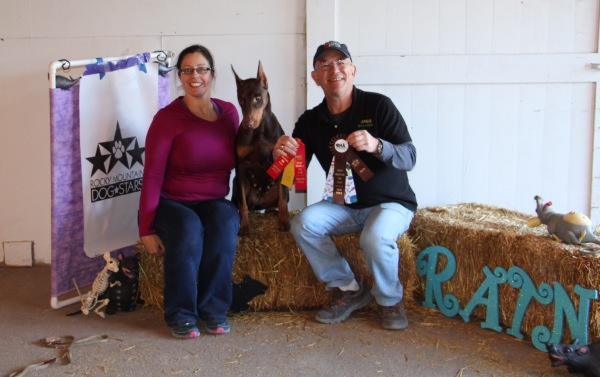 Mae earns her RATI & RATN in Montana!