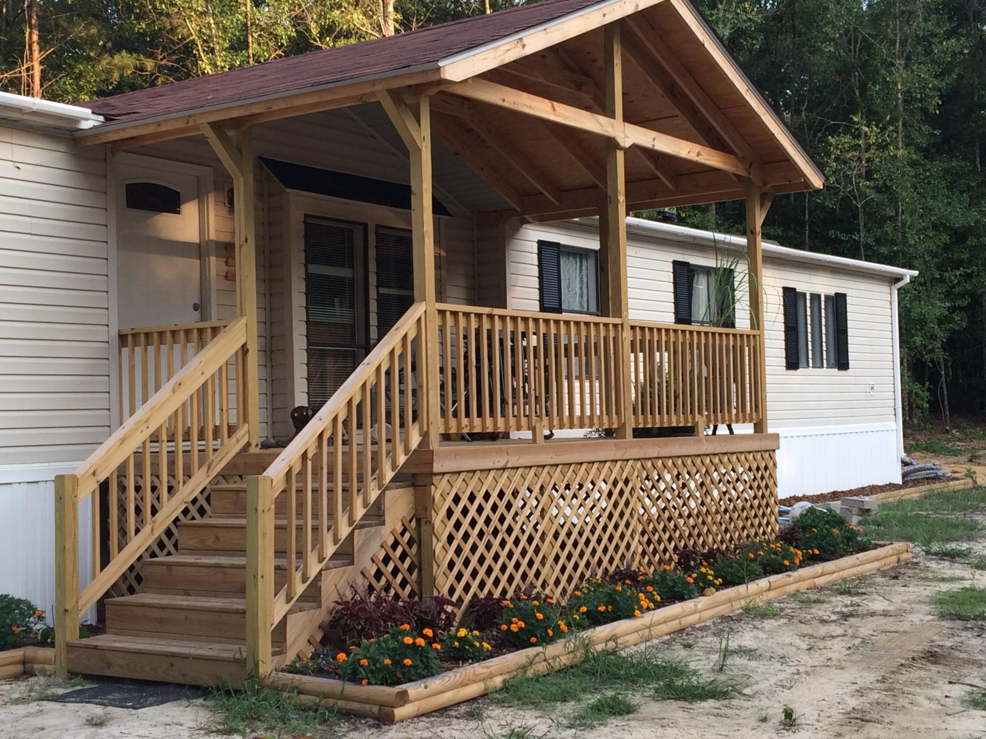 Custom Porches and Decks