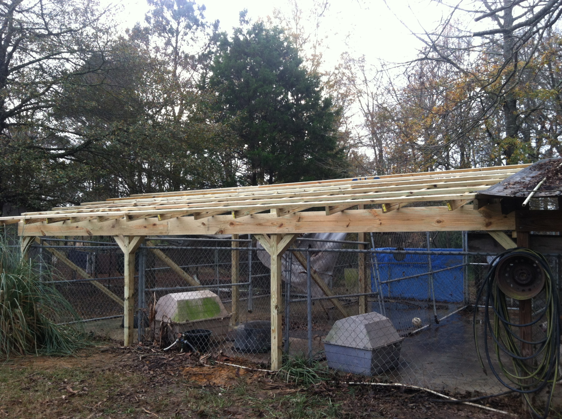 A Roof over a Kennel