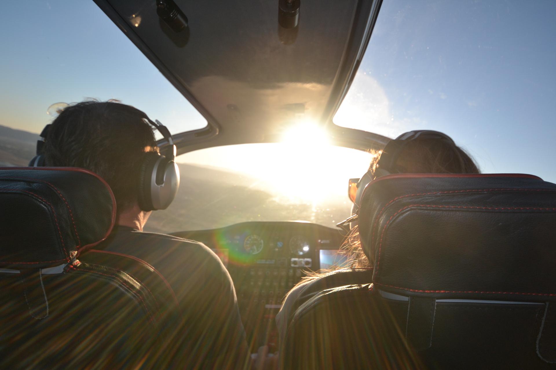 Sharing aviation