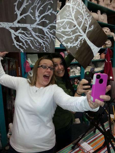 Canvas Selfie!