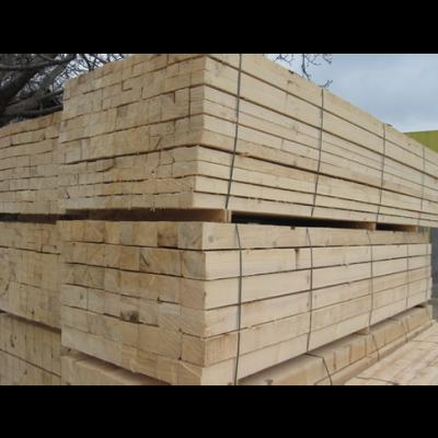 Sawn Oak Timber Beams Boards