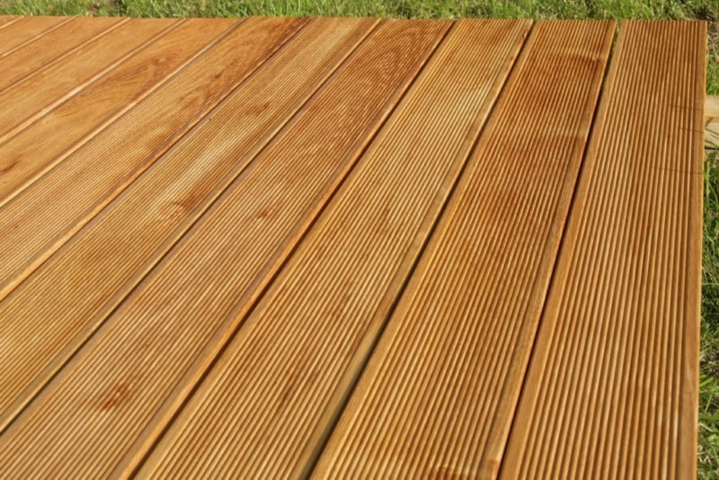 Hardwood Decking Robinia Boards
