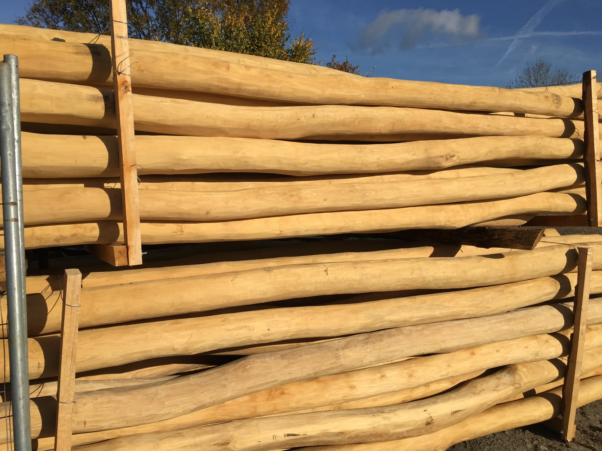 Playground  Robinia Poles Timber