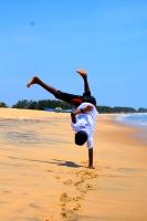 Beach Capoeira Sri Lanka
