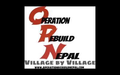 The birth of Operation Rebuild Nepal