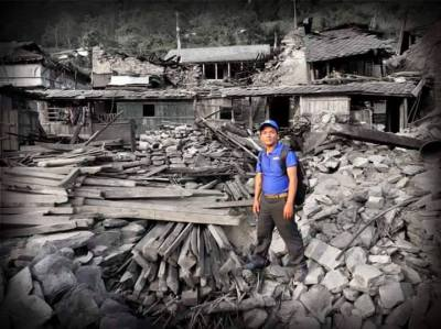 Heartstrings project ~ Help rebuild a home for Chandra's family