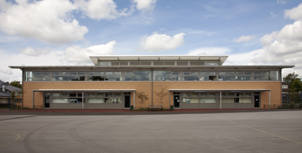 Modern extension to Walsall primary school