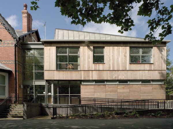 Educational extension to listed building - West Midlands