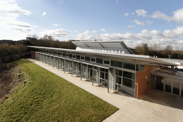 Contemporary sixth form centre by Baart Harries Newall