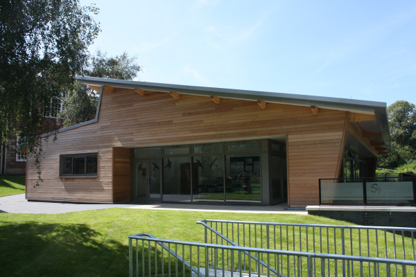 Contemporary Sustainable School in Shropshire