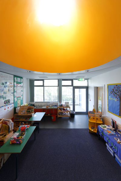 Upper Arley Primary School (Worcestershire) by Contemporary and Modern architects Baart Harries Newall (BHN architects) based in Shrewsbury.
