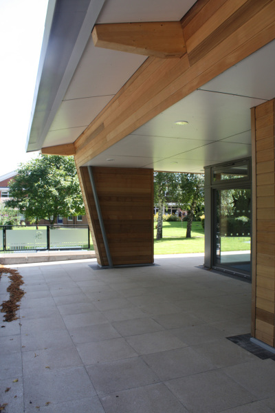 Earth Science Building (Shrewsbury Sixth Form College) by Contemporary and Modern architects Baart Harries Newall (BHN architects) based in Shrewsbury.