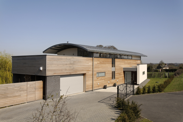 Gwernevy House (Crew Green, Powys) by Contemporary and Modern architects Baart Harries Newall (BHN architects) based in Shrewsbury.