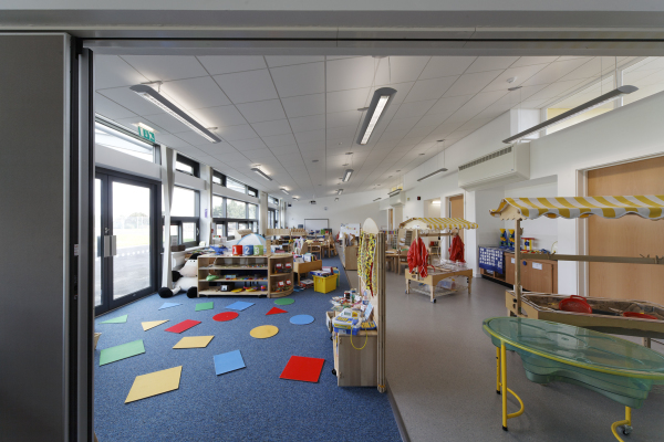 St. Bartholomew's Primary School (Stourport-on-Severn) by Contemporary and Modern architects Baart Harries Newall (BHN architects) based in Shrewsbury.