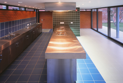 Students Canteen (Concord College) by Contemporary and Modern architects Baart Harries Newall (BHN architects) based in Shrewsbury.