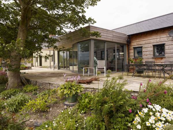 Fronhaul (Cefn Coch, Powys) by Contemporary, Modern and Conservation architects Baart Harries Newall (BHN architects) based in Shrewsbury.