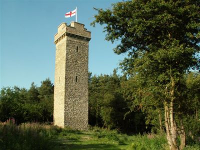 Flounders Folly (Callow Hill, South Shropshire) by Conservation architects Baart Harries Newall (BHN architects) based in Shrewsbury.