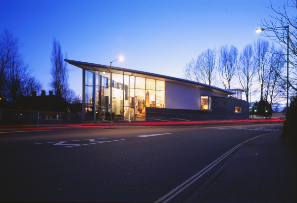 Office and commercial projects undertaken by Baart Harries Newall (BHN architects)